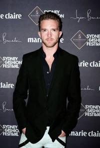Tim Draxl at the Jayson Brunsdon Gala Opening night show.