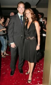 Tim Draxl and Layne Beachley at the 2006 Nokia L'Amour Fashion Collection.