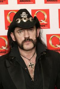Lemmy Kilmister at the Q Awards 2003 party.