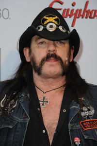 Lemmy Kilmister at the 2012 Revolver Golden Gods Award Show in California.