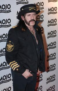Lemmy Kilmister at the Mojo Honours List 2008 Award Ceremony.