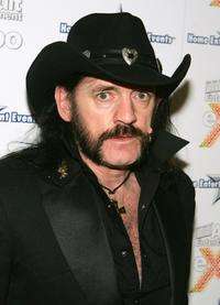 Lemmy Kilmister at the opening night party for the eighth Annual Adult Video News Adult Entertainment Expo.