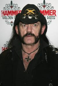 Lemmy Kilmister at the Metal Hammer Golden Gods Awards.