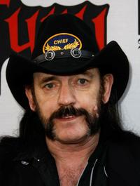 Lemmy Kilmister at the 1st Annual Epiphone Revolver Golden Gods Awards.