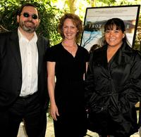 Michael Barker, Melissa Leo and Misty Upham at the AFI Awards 2008.
