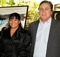 Misty Upham and Tom Bernard at the AFI Awards 2008.