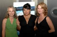 Director Courtney Hunt, Misty Upham and Melissa Leo at the premiere of