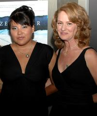 Misty Upham and Melissa Leo at the premiere of