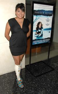 Misty Upham at the premiere of