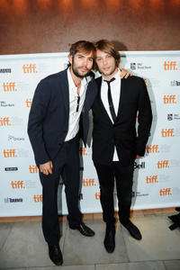 Rossif Sutherland and Angus Sutherland at the premiere of