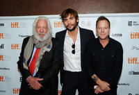 Donald Sutherland, Rossif Sutherland and Kiefer Sutherland at the premiere of