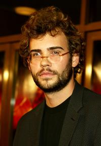 Rossif Sutherland at the premiere of