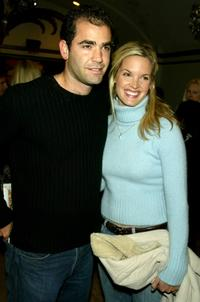 Pete Sampras and Bridgette Wilson-Sampras at the Los Angeles premiere of