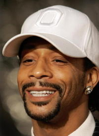 Katt Williams at the L.A. premier of