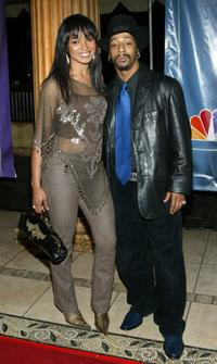 Tamala Jones and Katt Williams at the 2004 NBC Winter Press Tour All-Star Party.