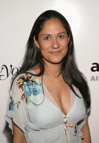 Sakina Jaffrey at the American Foundation for AIDS Research 13th Annual Rocks Benefit.