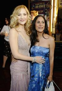 Kate Hudson and Sakina Jaffrey at the Hollywood premiere of