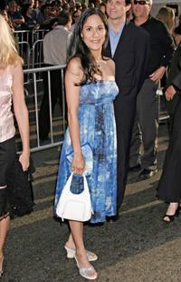 Sakina Jaffrey at the Hollywood premiere of