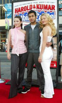 Kate Kelton, Kal Penn and Brooke D'Orsay at the world premiere of