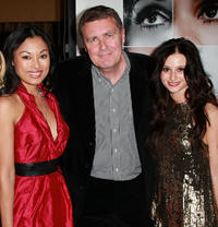 Kira Clavell, director Geoffrey Sax and Melanie Papalia at the California premiere of