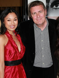 Kira Clavell and director Geoffrey Sax at the California premiere of