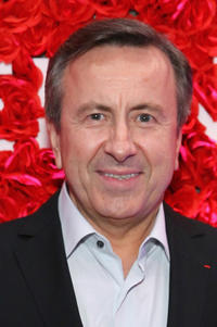 Daniel Boulud at the Michelin celebration of the 2016 Michelin Star Chef and restaurant recipients from New York City.