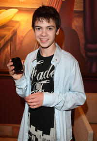 Alexander Gould at the Palm Pre Launch event to Benefit Iraq and Afghanistan Veterans of America in California.