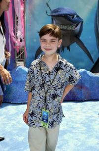Alexander Gould at the world premiere of