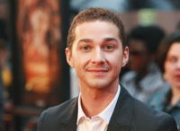 Shia LaBeouf at the N.Y. premiere of