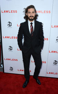 Shia LaBeouf at the California premiere of