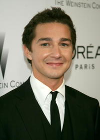 Shia LaBeouf at the Weinstein Company's 2007 Golden Globes after party in Beverly Hills.