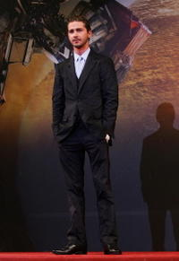 Shia LaBeouf at the South Korea premiere of