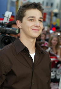 Shia LaBeouf at the Universal City premiere of