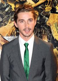 Shia LaBeouf at the Japan premiere of