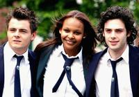 Laurence Kinlan, Samantha Mumba and David Leon on the set of