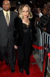 Etta James at the premiere of