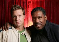David Leitch and Ernie Hudson at the 2005 Sundance Film Festival.