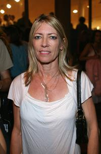Kim Gordon at the Terry Richardson Gallery opening.