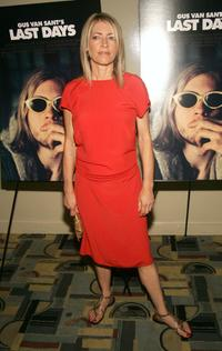 Kim Gordon at the premiere of
