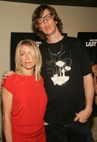 Kim Gordon and her Husband Thurston Moore at the premiere of