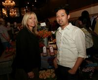 Kim Gordon and Umberto Leon at the launch of Liberty Dunk sneakers.