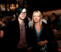 Ryan Adams and Kim Gordon at the launch of Liberty Dunk sneakers.
