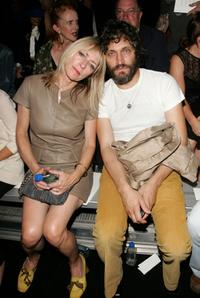 Kim Gordon and Vincent Gallo at the Marc Jacobs 2008 Fashion Show.