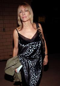 Kim Gordon at the Marc Jacobs Spring 2007 fashion show.