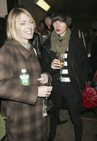 Kim Gordon and Karen O at the Marc Jacobs Spring 2007 fashion show.