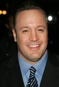 Kevin James at the world premiere of