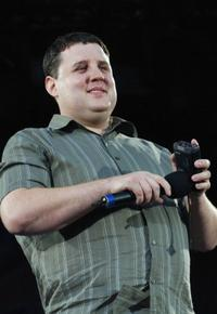 Peter Kay at the Croke Park in Dublin, Ireland.