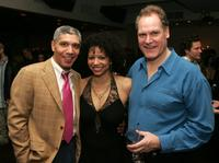 Peter Francis James, Gloria Reuben and Jay O. Sanders at the after party of the opening night of