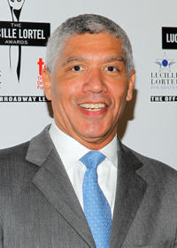 Peter Francis James at the 27th Annual Lucille Lortel Awards in New York.