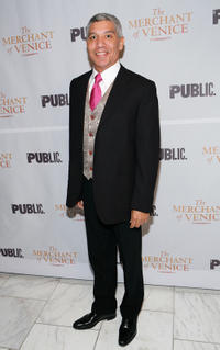 Peter Francis James after party of the Broadway opening celebration of